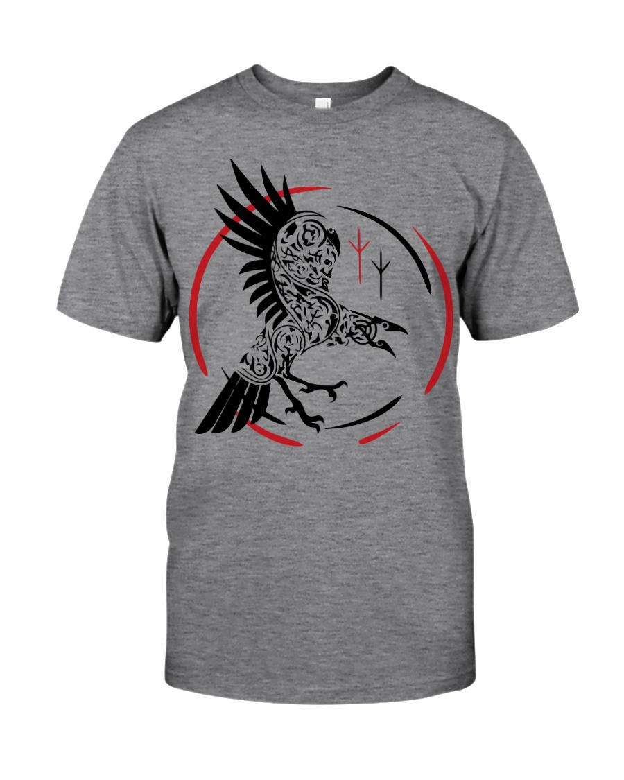 Viking Raven  - The Children of Odin Classic T-Shirt