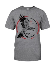 Viking Raven  - The Children of Odin Classic T-Shirt front
