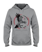 Viking Raven  - The Children of Odin Hooded Sweatshirt thumbnail