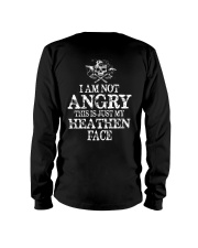 This Is Just My Heathen Face - Viking Shirt Long Sleeve Tee thumbnail