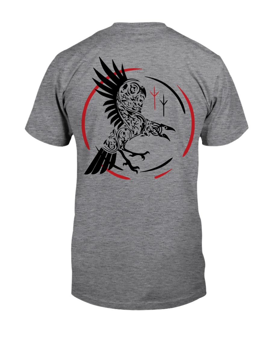 Viking Shirt - Raven and Symbol Viking Classic T-Shirt