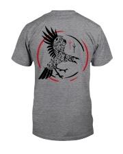Viking Shirt - Raven and Symbol Viking Classic T-Shirt back
