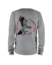 Viking Shirt - Raven and Symbol Viking Long Sleeve Tee tile