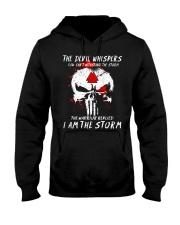 Viking Shirt - I Am The Storm - Viking Hooded Sweatshirt thumbnail