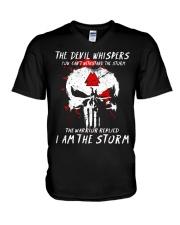 Viking Shirt - I Am The Storm - Viking V-Neck T-Shirt thumbnail