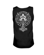 Wolf and Hammer - Viking Shirt Unisex Tank thumbnail