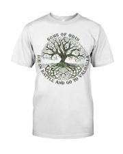 Viking Shirt - SonsOfOdin - Go To Valhalla Classic T-Shirt front