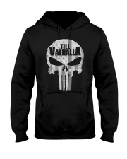Viking Shirt : Till Valhalla Viking Hooded Sweatshirt thumbnail