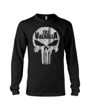 Viking Shirt : Till Valhalla Viking Long Sleeve Tee thumbnail