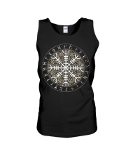 Viking Shirt - Vegvisir Rune Art Unisex Tank thumbnail