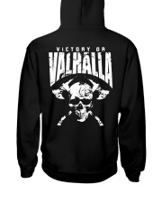 Victory Or Valhalla - Viking Shirt Hooded Sweatshirt tile