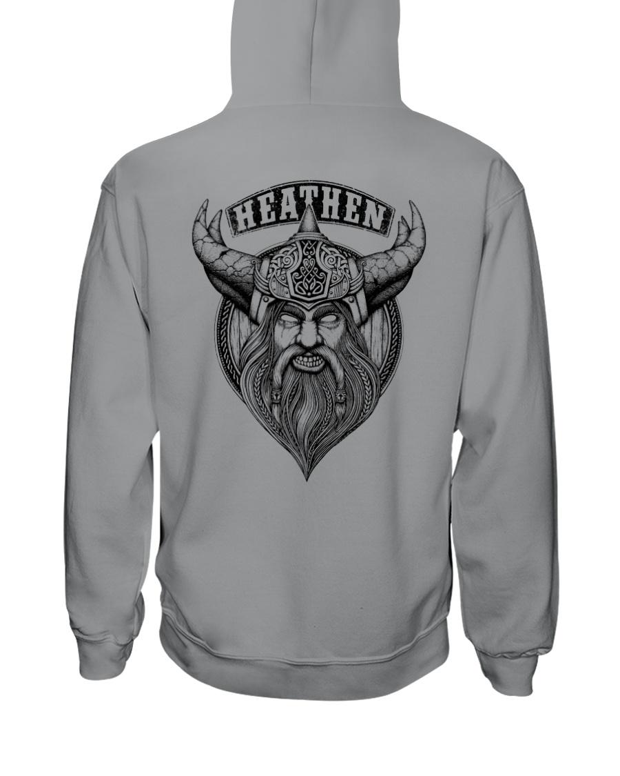 Heathen Odin  - Viking Shirt Hooded Sweatshirt