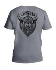 Heathen Odin  - Viking Shirt V-Neck T-Shirt thumbnail