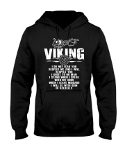 Viking Shirt - I Will Be With Odin In Valhalla Hooded Sweatshirt thumbnail