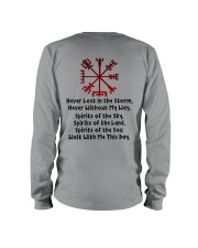 Never Lost In The Storm  - Viking Shirt Long Sleeve Tee thumbnail