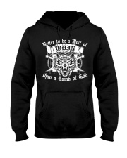 Viking Shirt - To Be A Wolf Of Odin Hooded Sweatshirt thumbnail