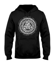 Viking Valknut Mean - Viking Shirts Hooded Sweatshirt thumbnail