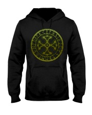 Viking Shirts : Thor's Hammer with Triquetra Hooded Sweatshirt thumbnail
