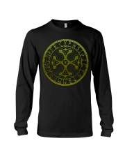 Viking Shirts : Thor's Hammer with Triquetra Long Sleeve Tee thumbnail