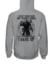IT WILL NEVER SAY ''I GAVE UP''  - VIKING SHIRT Hooded Sweatshirt thumbnail