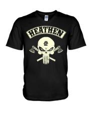 Heathen Viking - Viking Shirt V-Neck T-Shirt thumbnail