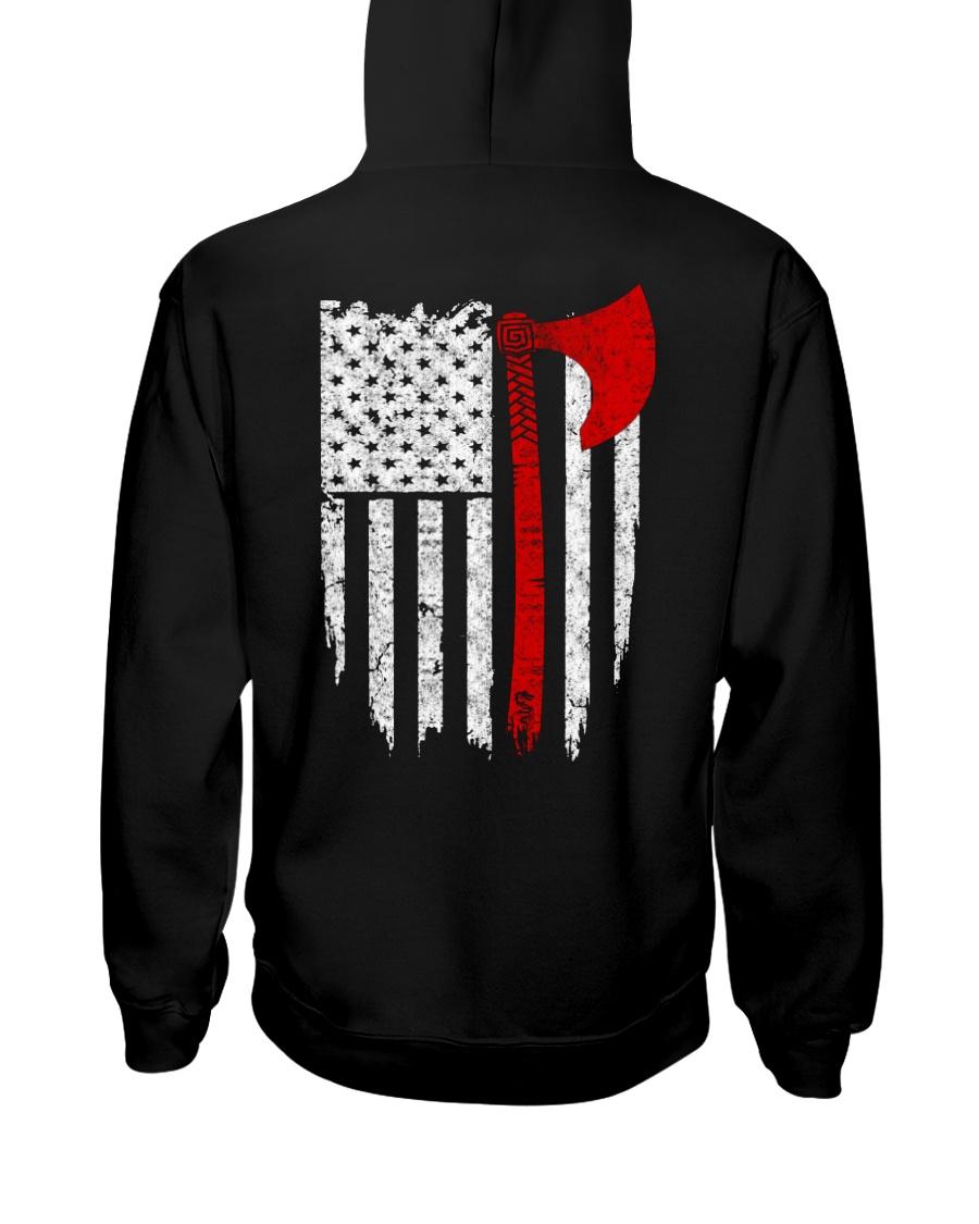 Viking Flag - Viking Shirt Hooded Sweatshirt