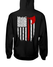 Viking Flag - Viking Shirt Hooded Sweatshirt back