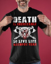 Viking Shirt - Live Life Without Fear Classic T-Shirt apparel-classic-tshirt-lifestyle-front-181