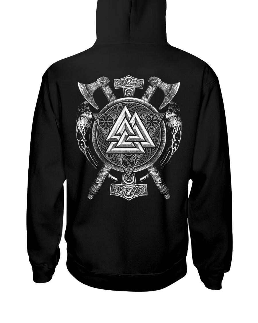 Viking Valknut - Viking Shirt Hooded Sweatshirt
