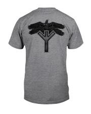 Raven Symbol - Viking Shirt Classic T-Shirt back