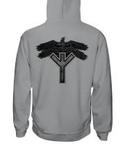 Raven Symbol - Viking Shirt Hooded Sweatshirt thumbnail