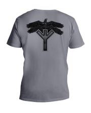 Raven Symbol - Viking Shirt V-Neck T-Shirt thumbnail