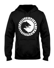 Yin Yang Wolf - Viking Shirt Hooded Sweatshirt thumbnail