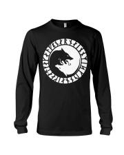 Yin Yang Wolf - Viking Shirt Long Sleeve Tee thumbnail