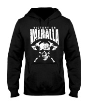 Viking Shirt : Viking Tee : Victory Or Valhalla Hooded Sweatshirt front