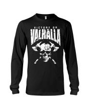 Viking Shirt : Viking Tee : Victory Or Valhalla Long Sleeve Tee thumbnail
