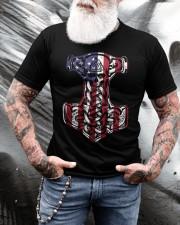 HAMMER FLAG - VIKING T-SHIRTS Classic T-Shirt apparel-classic-tshirt-lifestyle-front-265