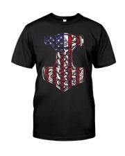 HAMMER FLAG - VIKING T-SHIRTS Classic T-Shirt front