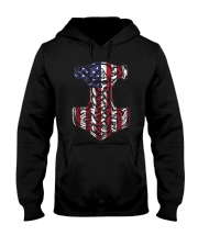 HAMMER FLAG - VIKING T-SHIRTS Hooded Sweatshirt tile