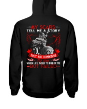 My Scars Tell Me A Story - Viking Shirt Hooded Sweatshirt tile