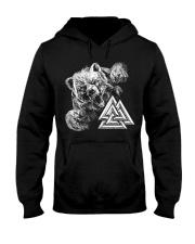 Bear Valknut - Viking Shirt Hooded Sweatshirt thumbnail