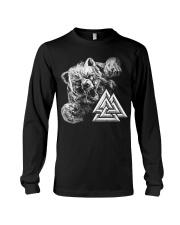 Bear Valknut - Viking Shirt Long Sleeve Tee thumbnail