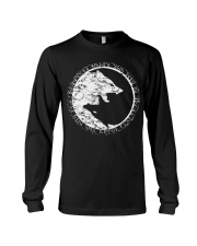 Yin Yang Wolf - Viking Shirt Long Sleeve Tee thumbnail