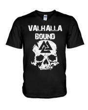 Valhalla Bound - Viking Shirt V-Neck T-Shirt thumbnail