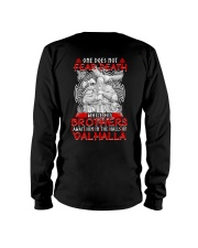 Brothers Await Him In The Halls Of Valhalla Viking Long Sleeve Tee tile