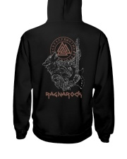 Viking Shirt : Wolf Fenrir Ragnarock Viking Hooded Sweatshirt back