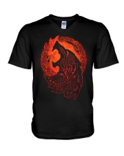 Fenrir Viking - VIKING T-SHIRTS V-Neck T-Shirt thumbnail