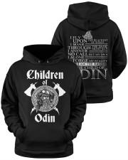 Children Of Odin - Viking Shirt Hooded Sweatshirt apparel-hooded-sweatshirt-lifestyle-front-37