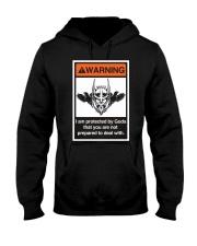 Viking Shirt - Viking Warning Hooded Sweatshirt thumbnail