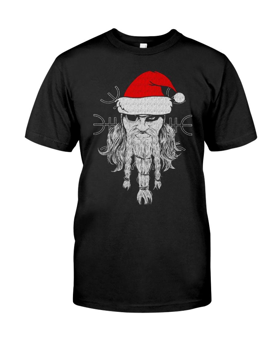 Santa - Odin - Viking Shirt Classic T-Shirt
